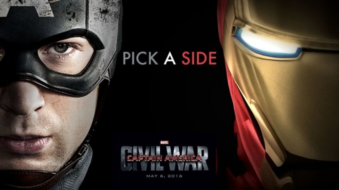 Captain America Civil War film nou