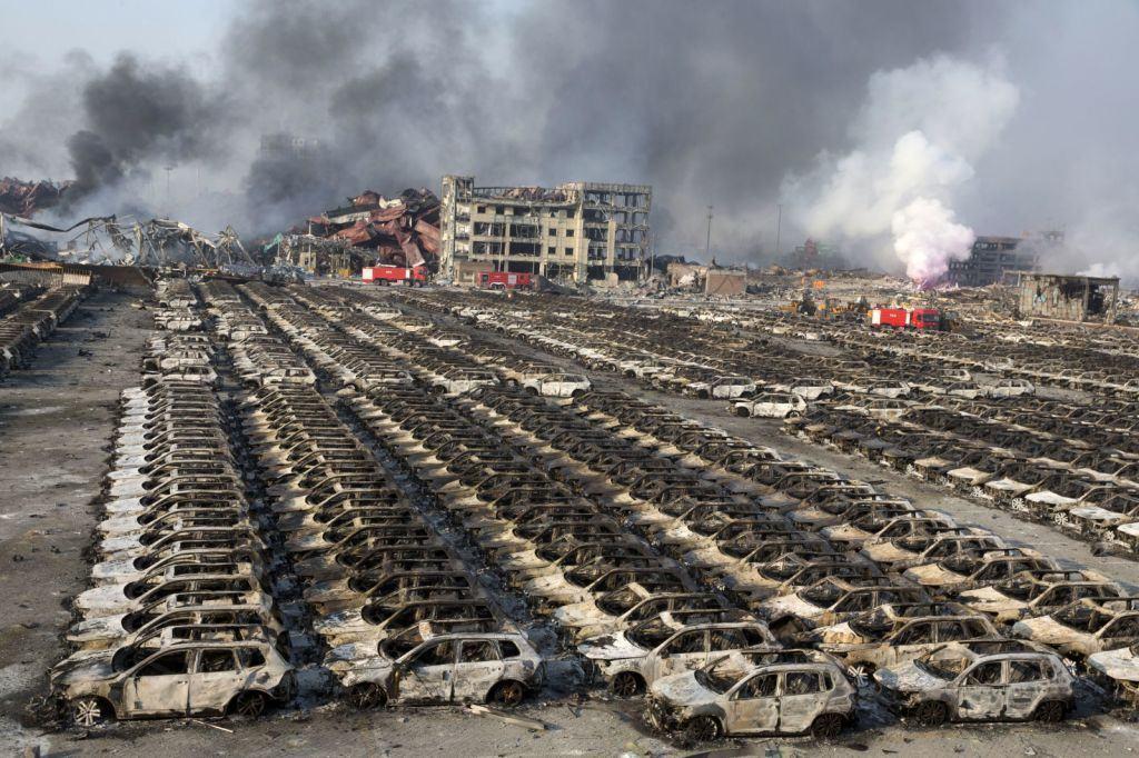 Tianjin explozie