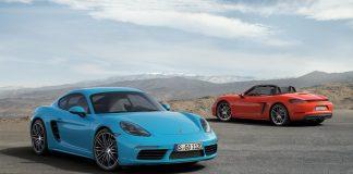 Porsche 718 Cayman S & 718 Boxster S