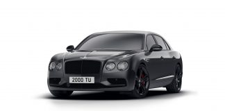Bentley Flying Spur V8 black (2)