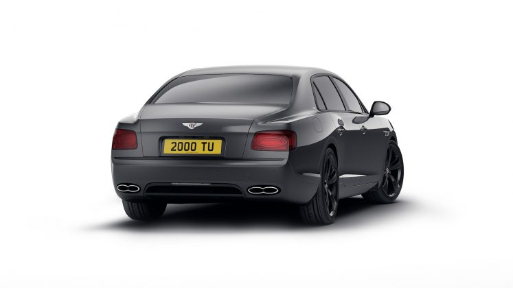 Bentley Flying Spur V8 black (4)